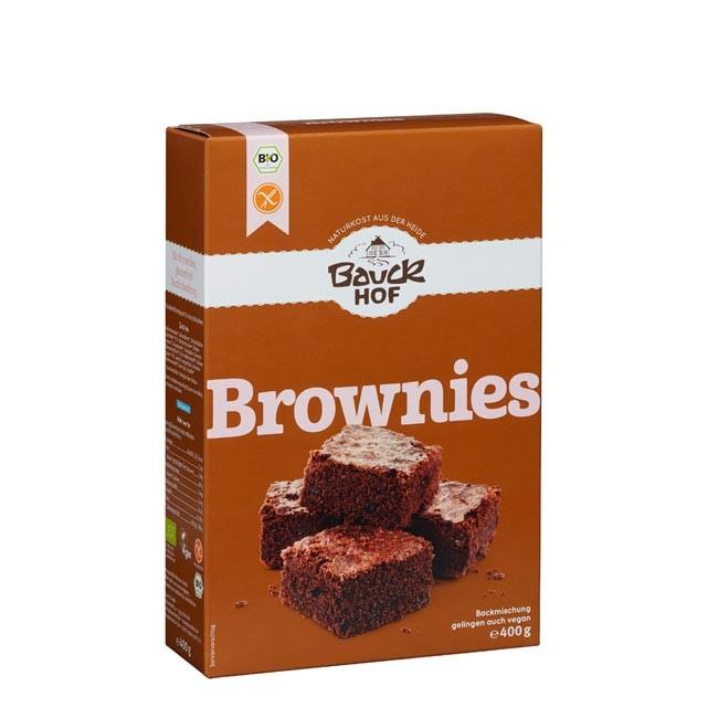 Bauckhof :Backmischung Bio Brownies glutenfrei 400g