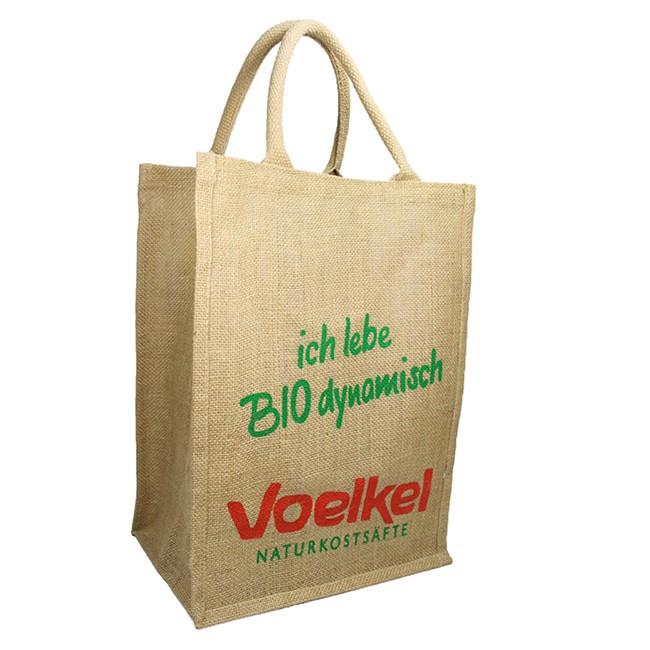 Voelkel Jute Tasche GRATIS zur Bestellung bis zum 31.8.2017