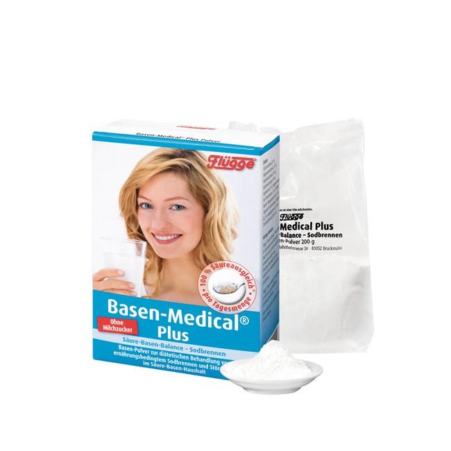 Flügge : Basen-Medical® Plus, Basen-Pulver (200g)