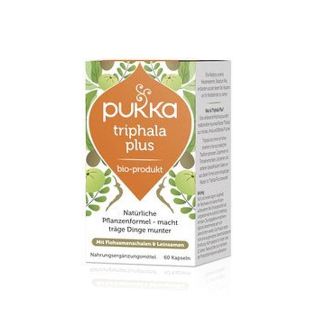 PUKKA Triphala Plus Kapseln, bio (60 Stk) Nahrungsergänzung
