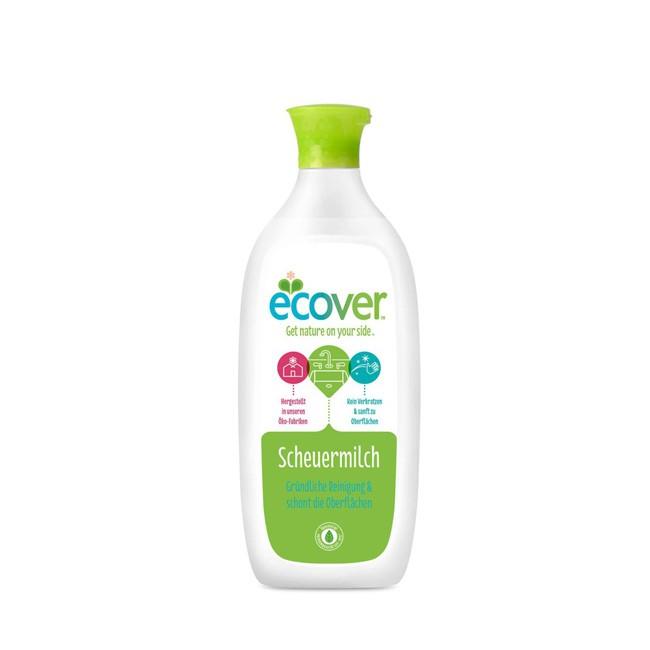 ecover-auf pflanzlicher basis-scheuermilch-500ml