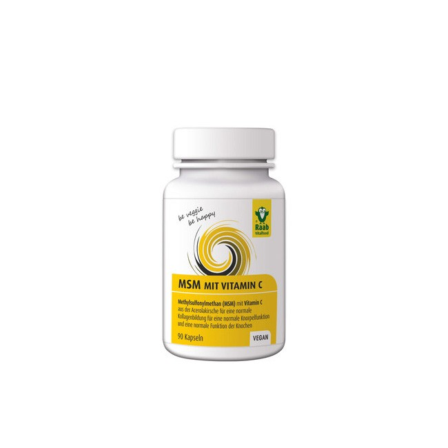 Raab MSM mit Vitamin C 90 Kapseln