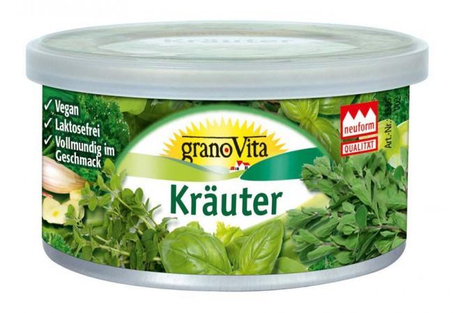 granoVita : Veganer Brotaufstrich Kräuter (125g)