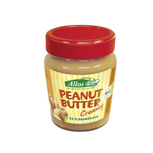 Bio Erdnussbutter Creamy von Allos (227g)