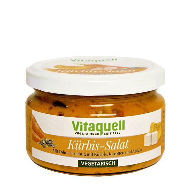 200g Kürbis Salat von Vitaquell für Vegetarier und alle anderen Genießer