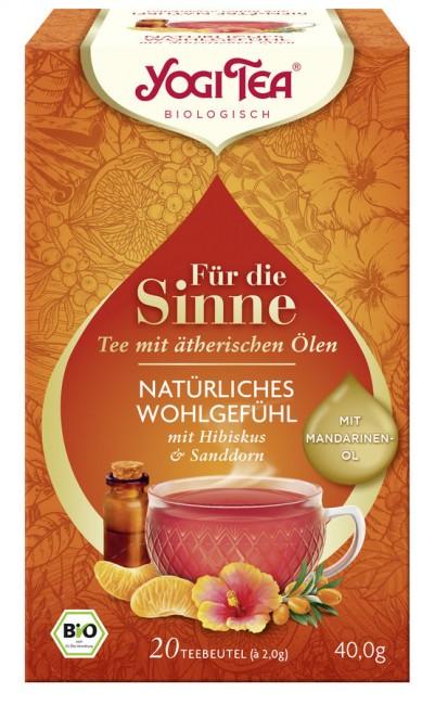 Yogi Tea : Yogi Tee Natürliches Wohlgefühl, bio (20 Beutel)