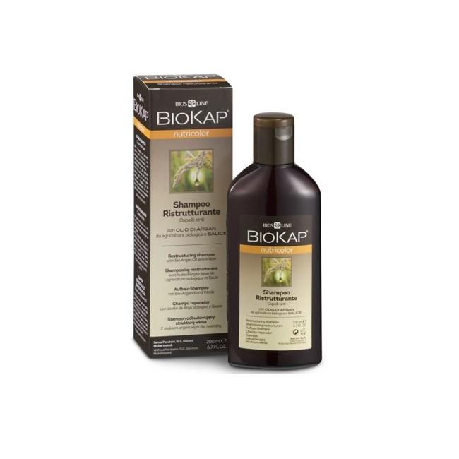BioKap® Aufbau-Shampoo für coloriertes Haar mit Bio-Arganöl & Weidenrinde 200ml