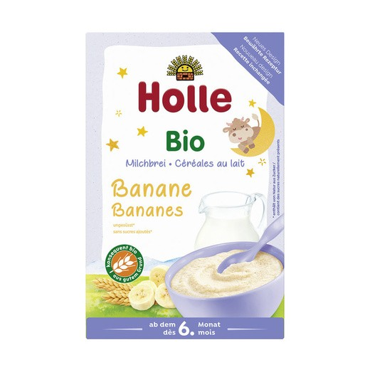 Holle : Milchbrei Banane, bio (250g)
