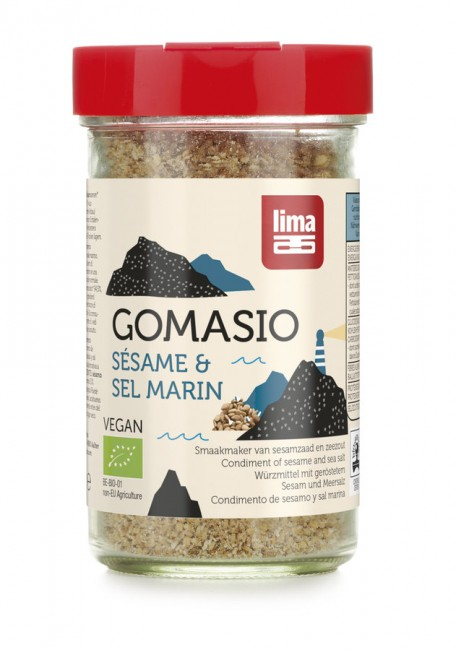Lima : Gomasio Streuer, bio (100g)