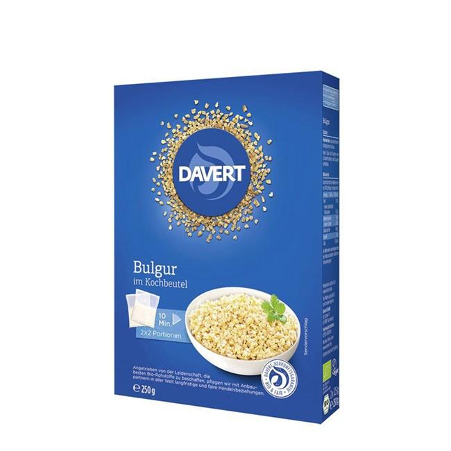 Bio Bulgur portioniert im Kochbeutel von Davert - 2 x 2 Portionen