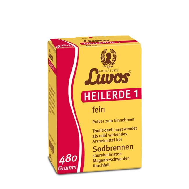 Luvos Heilerde 1 - feines Pulver gegen Sodbrennen (480g)