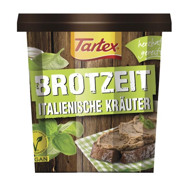 Bio Brotzeit Aufstrich mit italienischen Kräutern von Tartex (125g)