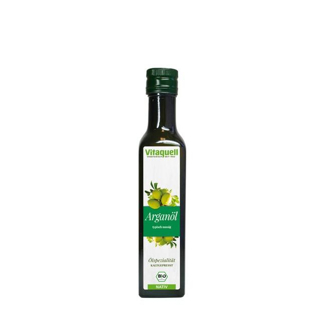 Vitaquell Arganöl ungeröstet bio Qualität 250ml