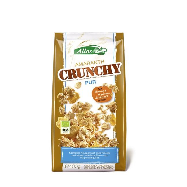 Allos: Amaranth Crunchymüsli (400g), ideal für ein gesundes Frühstück geeignet