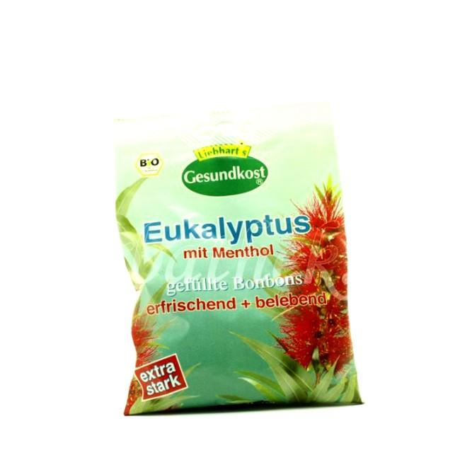 Erfrischend Belebende Eukalyptus Bonbons in Bio Qualität von Liebhart's Gesund Kost