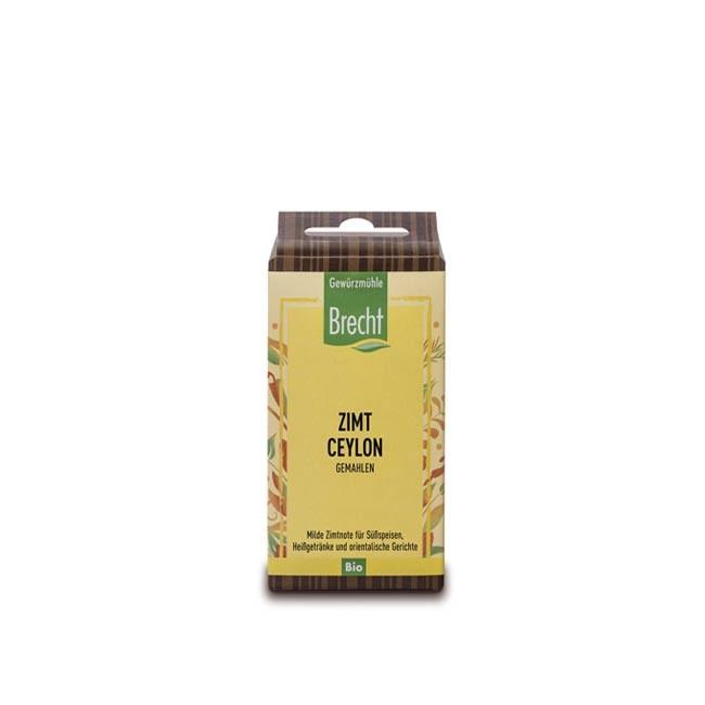 Bio Ceylon Zimt im Nachfüllbeutel (30g) Brecht Gewürze in Naturland Qualität
