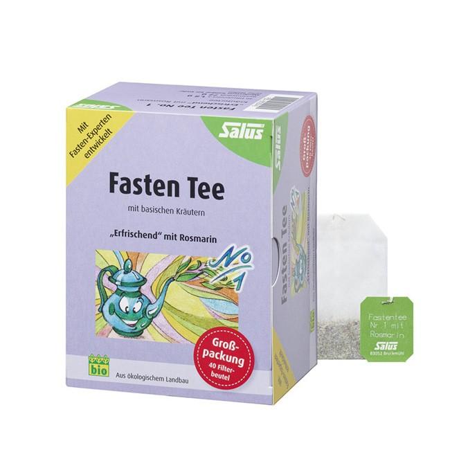 Fasten Tee No. 1 mit Rosmarin von Salus und in Bio Qualität