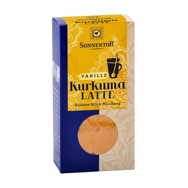 Bio Kurkuma-Latte mit Vanille im Nachfüllpack von Sonnentor (60g)