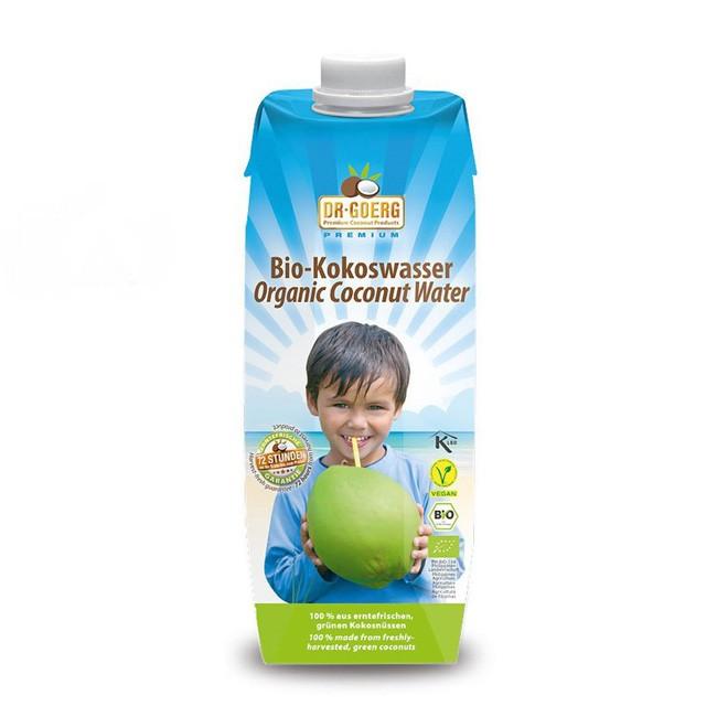 Bio Kokoswasser (1l) von Dr. Goerg in Premium Qualität