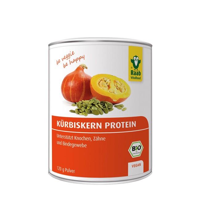 Bio Kürbiskern Protein Pulver von Raab (120g)