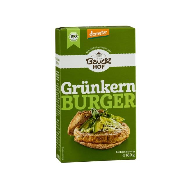 Grünkern Burger Fertigmischung ohne Weizen 160g Demeter