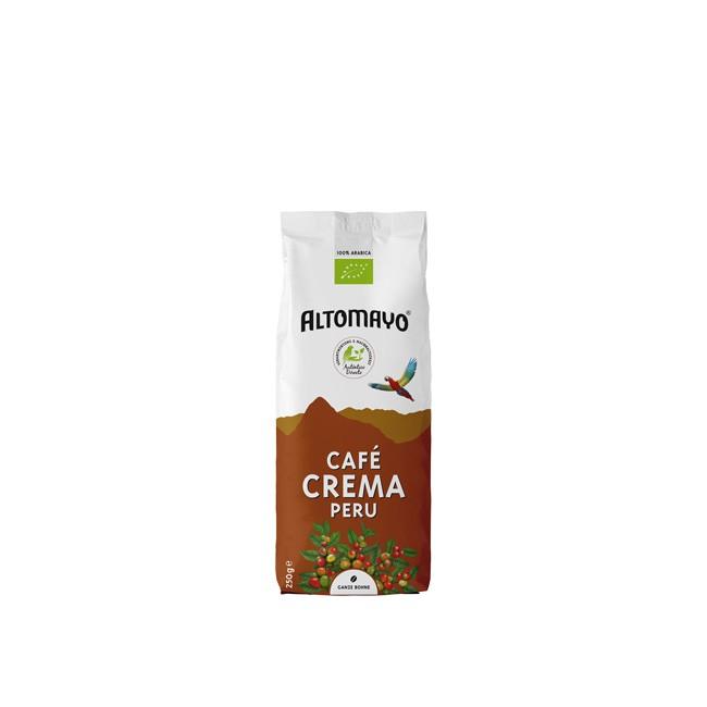 Bio Café Crema Ganze Bohnen 250g von Altomayo - extra cremig