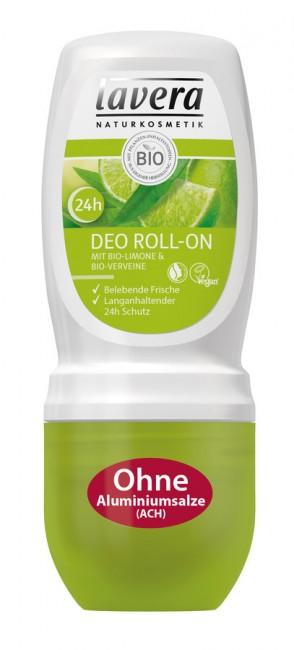 Lavera : Deo Roll-On Limone-Verveine (50ml)**