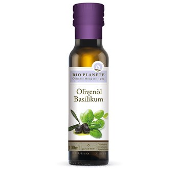 Bio Planète : Olivenöl & Basilikum, bio (100ml)