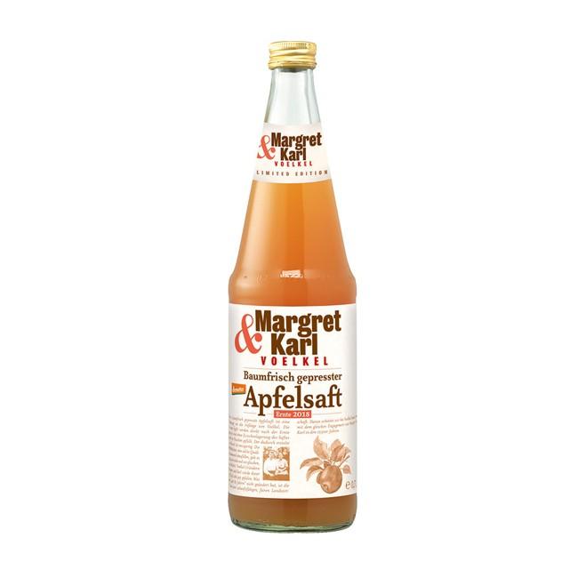 Voelkel Apfelsaft Margret und Karl 0,7l