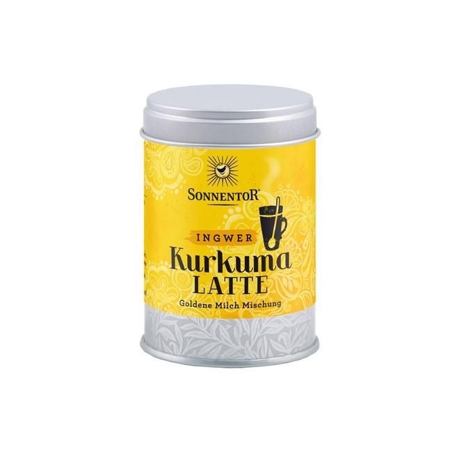 Bio Kurkuma-Latte Ingwer in der Dose von Sonnentor (60g)