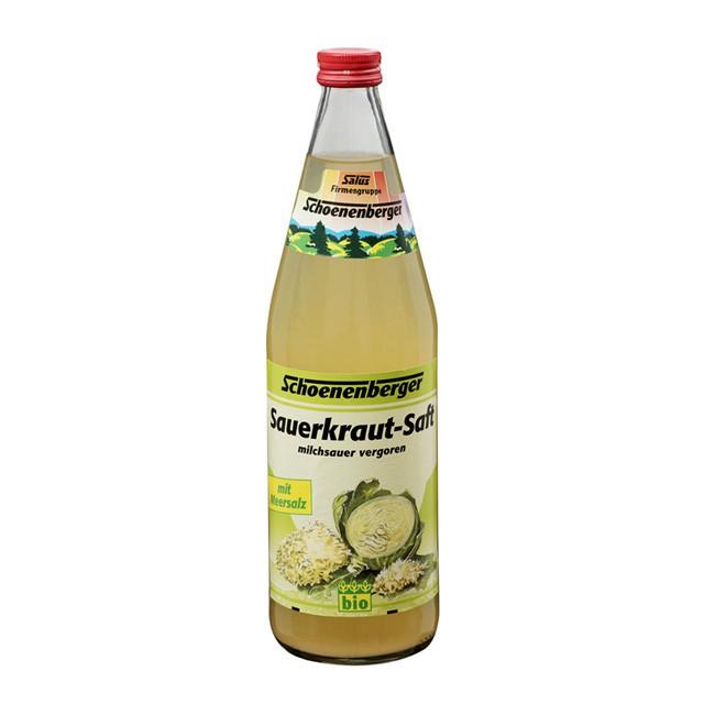 Milchsaurer Sauerkrautsaft 0,75l von Salus Schoenenberger