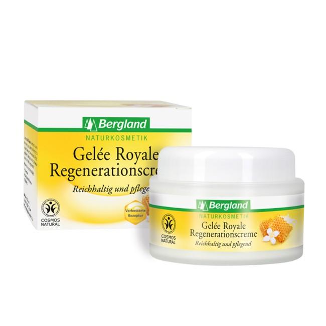 Regenerationscreme mit der Kraft der Bienen - Gelee Royale von Bergland (50 ml Dose)