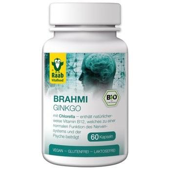 Raab : Ginkgo-Brahmi Kapseln, bio (33g)