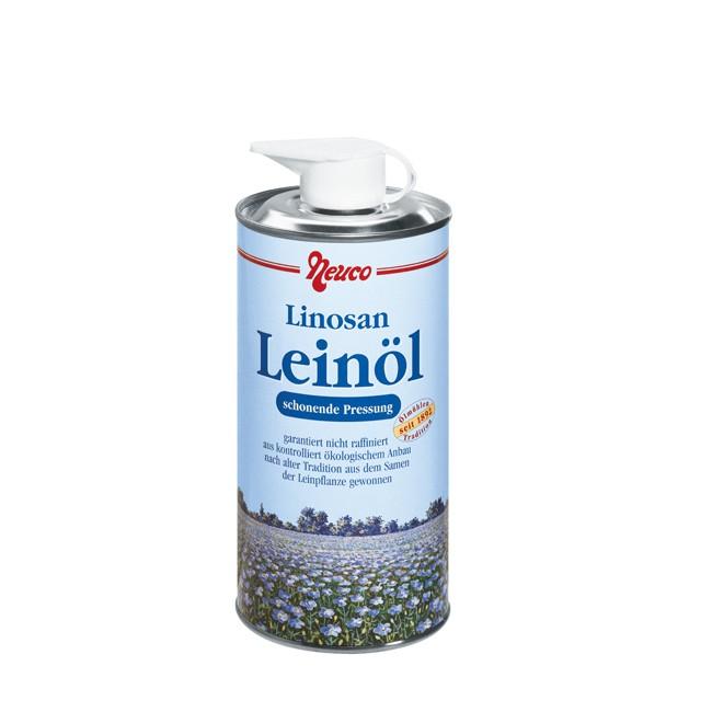 Neuco : Linosan Leinöl, bio (500ml)