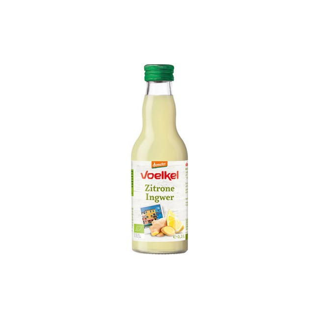 Voelkel Zitrone Ingwer Safr, demeter (200ml)