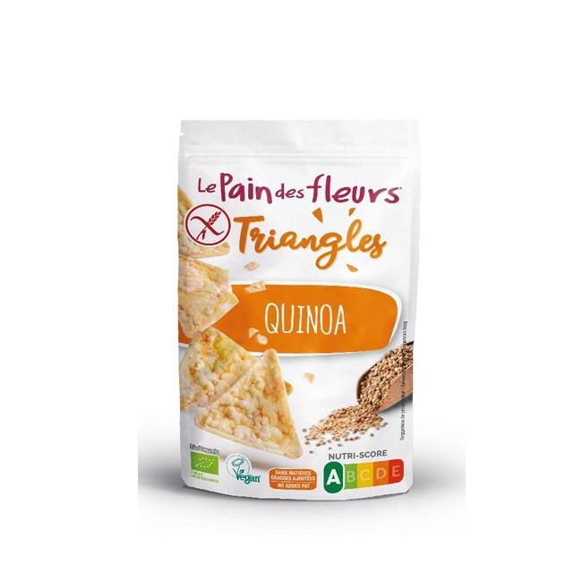 Blumenbrot : Quinoa Dreiecke (50g)