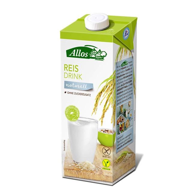 Allos Reisdrink ohne Zuckerzusatz BIO 1l