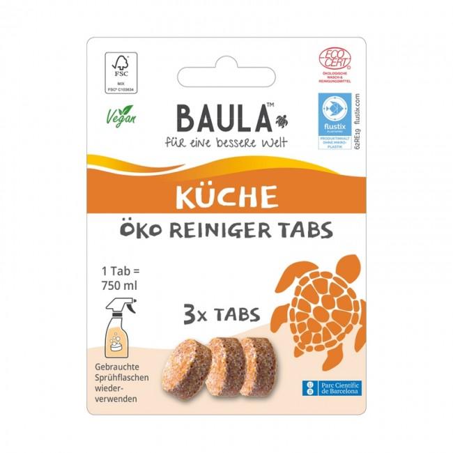 Biobaula : Küchenreiniger-Tabs, bio (3 Tabs)