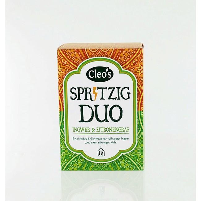 Cleos Spritziges Duo Biologischer Tee (18 Beutel)