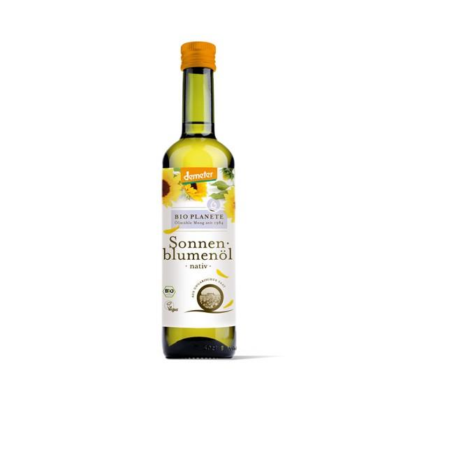 Demeter Sonnenblumenöl, nativ (500ml) von Bio Planète