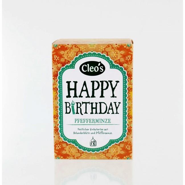 Cleo's Happy Birthday Tee (18 Beutel)