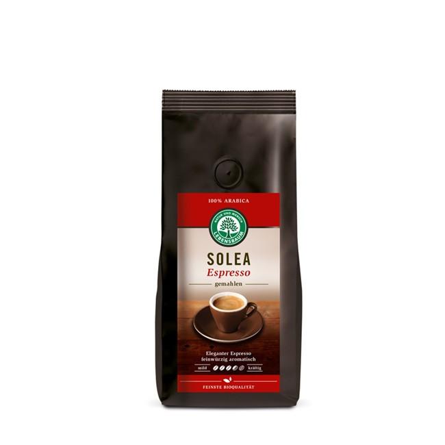 gemahlener Espresso SOLEA (vormals emozioni) von Lebensbaum, 250g BIO