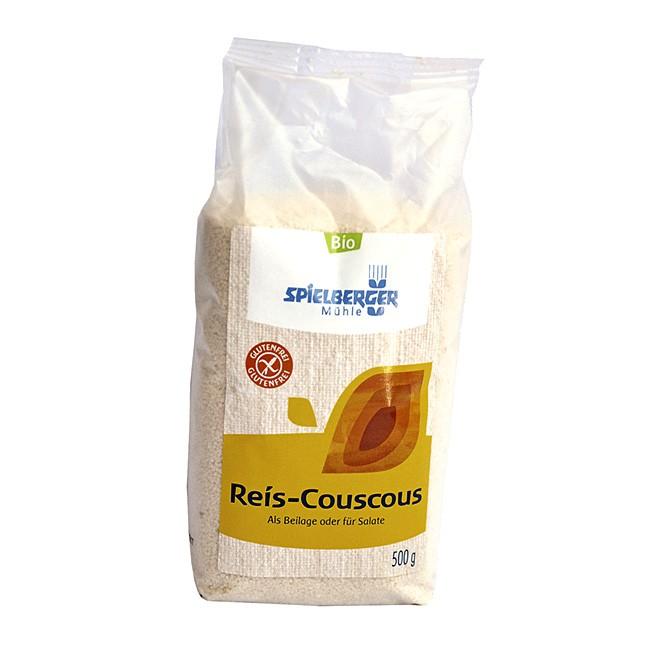 Glutenfreier Couscous aus Reis - Bio Qualität aus der Spielberger Mühle