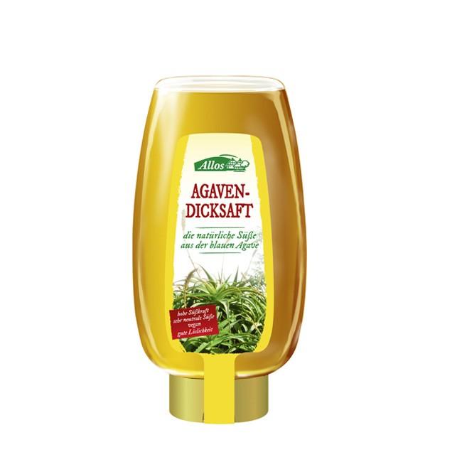 agavendicksaft-spender-500ml-flasche-allos-hohe-Süßungskraft-Fructose