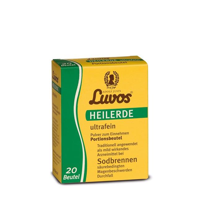 LUVOS Heilerde ultrafein 20 Portionen im Beutel - perfekt für unterwegs