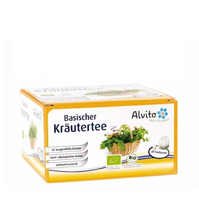 Alvito Kräutertee - basisch, 40 Teebeutel