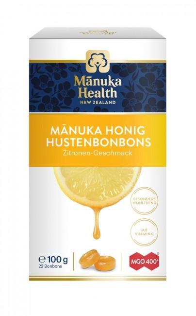 Manuka Health : Manuka Honig Bonbons mit Zitrone 400+ (100g)