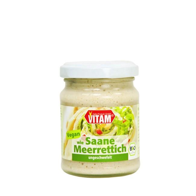 veganer saane-sahne-meerrettich-vitam-115g