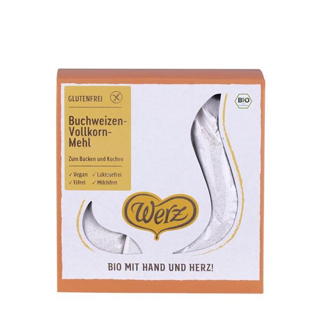 Glutenfrei Backen mit Buchweizenmehl von Werz (1kg)