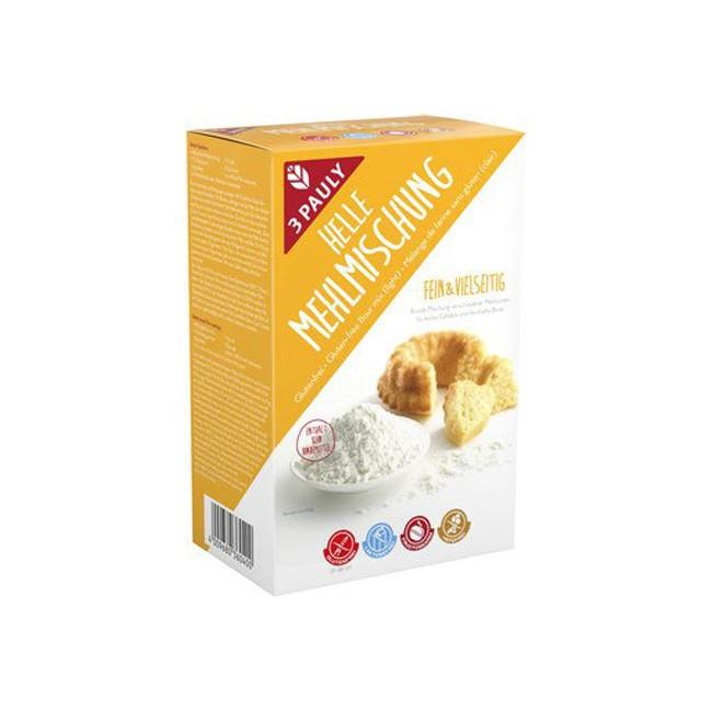 3 Pauly Helle Mehlmischung, glutenfrei (800g)